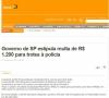 SP estipula multa para trote a Polícia