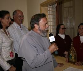 Nos 398 anos de Itu, Padre Antonio Maria celebra missa na Igreja Matriz