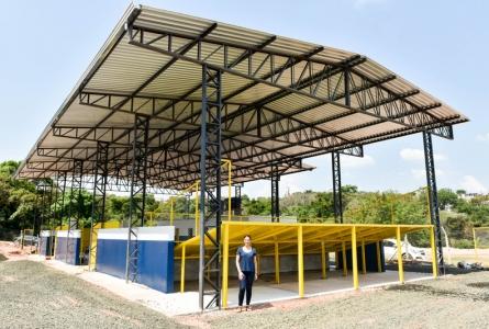 Rita Passos conquista Centro de Triagem de Resíduos Secos para o Jardim Europa, em Itu