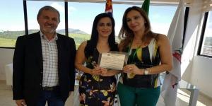Rita Passos é homenageada em Araçariguama