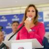 Rita Passos participa do anúncio da retomada das obras da Waldomiro