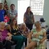Deputada Rita visita Centro do Idoso de Votorantim e faz entrega de kits meias