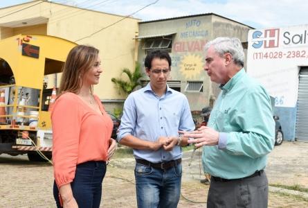 Deputada Rita Passos conquista asfalto para duas ruas do Jardim Saltense