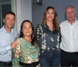 Rita Passos visita o município de Cafelândia