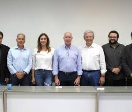 Rita Passos visita o município de Garça.