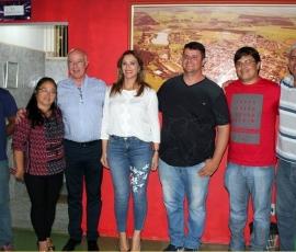 Rita Passos visita o município de Guaimbê